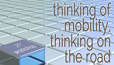 Thinking of mobility. Thinking on the road. 2º Workshop