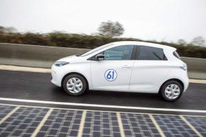 Tecnología fotovoltaica para asfaltar carreteras
